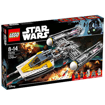 Lego Star Wars Y-Wing Starfighter - Heavily Discounted Ex-Display Stock • 79.99£