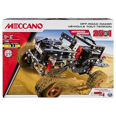 Meccano Motorised Off Road Racer 25-in-1 Set - Ex-Display Limited Quantity • 26.99£