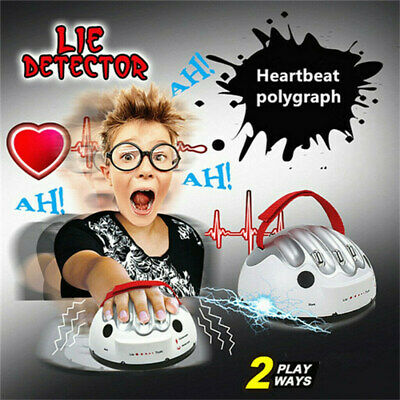 Test Truth Dare Toys Polygraph Shocking Liar Micro Electric Lie Detector Games • 12.99£