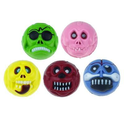 Ghost Shape Bouncing Ball Elastic Rubber Balls Bouncy Tricky Toys (5pcs) • 9.85£