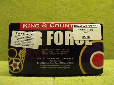 King & Country RAF06 Waiting And Ready • 150£