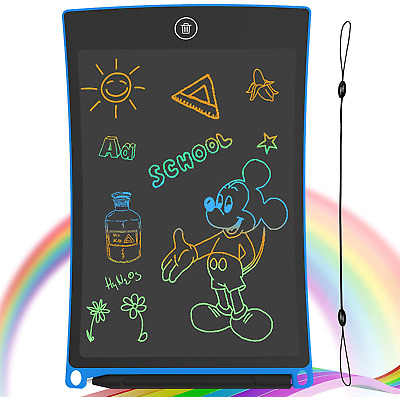 Guyucom Lcd Writing Tablet, 8.5 Inch Kids Doodle  Scribble Boards Erasable Writ • 14.99£
