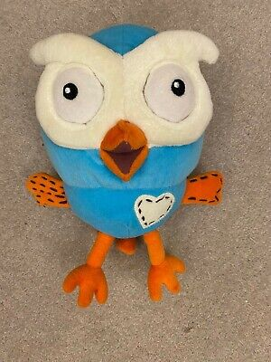 ABC Kids Hoot The Owl Plushie From Giggle And Hoot 2011 • 8.50£