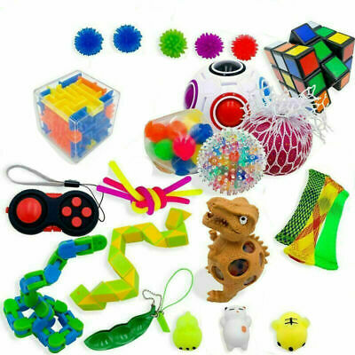 Fidget Toys Set Sensory Tools Bundle Stress Relief Hand Kids Adults Toy • 20.68£