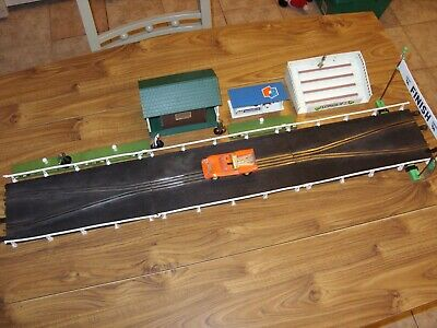 Vintage Scalextric Long Chicane & Accessories    • 59.99£