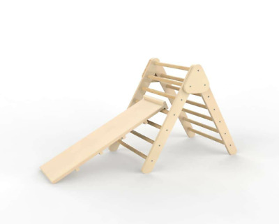 Pikler Triangle With Slide • 159.95£
