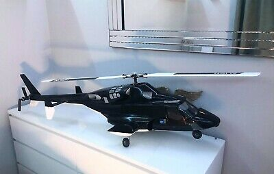 700 Sized RC Airwolf Helicopter Trex Align • 400£