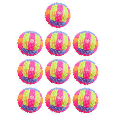 10PCS Hand Massage Balls Flash Patting Balls Interactive Props For Kid Student • 13.95£