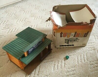 Vintage Toy Land, Toy Cowboy / Wild West Building For Toy Soldiers And Indians • 26£