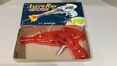 ¥¥ Astro Ray Space Gun Boxed Made In Japan Spark Action ¥¥ • 35£