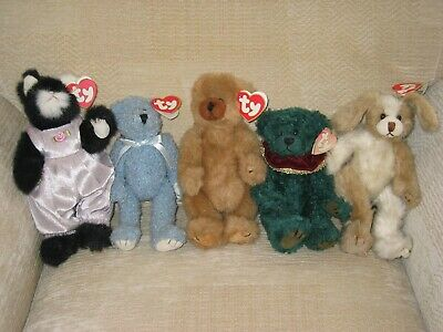 Five Ty Attic Treasure Collection Characters In Perfect Condition • 25£