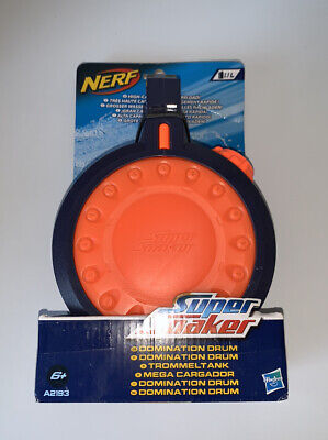 Hasbro Nerf Super Soaker Domination Drum For Any Clip System Blaster Refill Fast • 3.20£