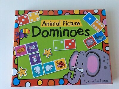 The Wilderness Animal Picture/Number Dominoes Learning Game New Xmas • 3£