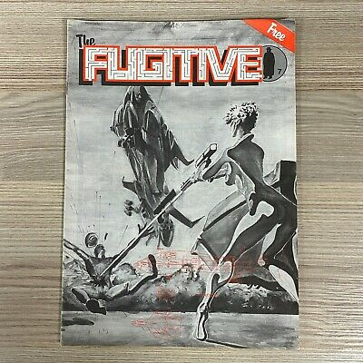 The Fugitive Rpg Magazine Fanzine 1980's Sci-fi Fantasy Roleplaying D&d  • 9.95£