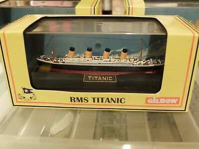 Gilbow 1/1750th Titanic,Britannic And Olympic Models • 80£