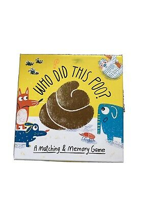 Who Did This Poo? A Matching & Memory Game • 1.70£