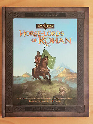 The One Ring RPG Sourcebook Horse Lords Of Rohan Cubicle7Games OOP • 24.50£
