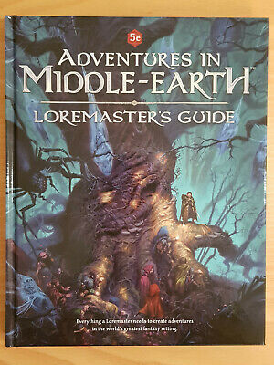 5th Ed. OGL Adventures In Middle Earth Lore Masters Guide Cubicle7Games OOP • 36.74£