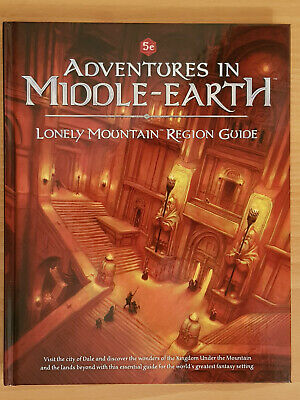 5th Ed OGL Adventures In Middle Earth Lonely Mountain Region Guide Cubicle7Games • 34.63£