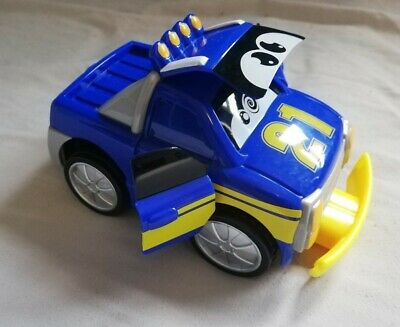 Chicco Turbo Touch Crash Derby Toy Car  (Blue) • 2.50£
