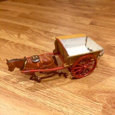CHARBENS TIPPING TUMBRIL CART VERY RARE 1930's FARM GARDEN • 9.99£