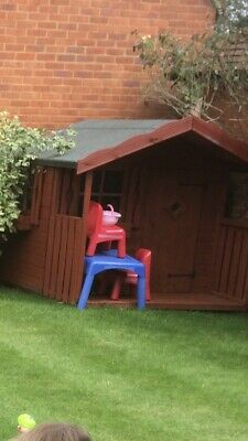 Childrens Wooden Playhouse • 30£