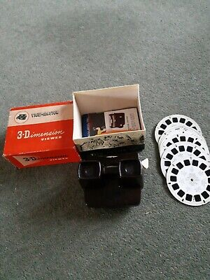 VIEWMASTER 3D Viewer Series E Plus Reels And Spare Viewer • 20£