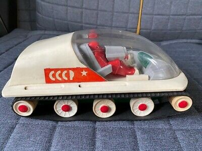 Vintage Russian / Soviet Space Toy / Moon, Mars Buggy / Tank / Vehicle • 30£