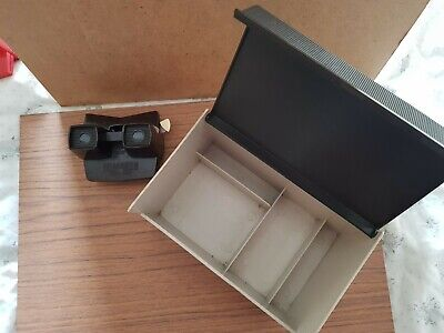 Vintage Viewmaster With Viewmaster Storage Box • 8£