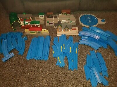 Tomy Vintage Thomas The Tank Engine Trackmaster Large Bundle 80+ Pc Trains Play • 23£