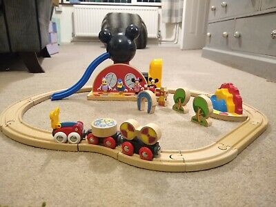 Brio 32221 Mickey Mouse Clubhouse Wooden Train Set Donald • 9.99£