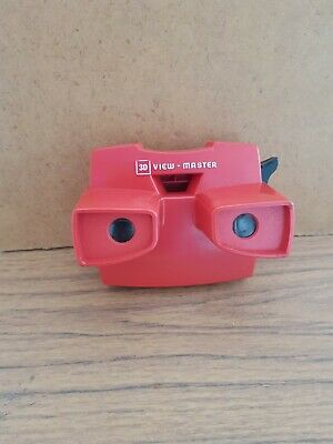 Vintage Viewmaster 'J' Model In Red With Black Handle • 10.30£