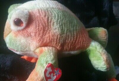 Lovely Retired Ty Beanie Buddy ~ Prince ~ Frog ~ Very Colourful • 8£