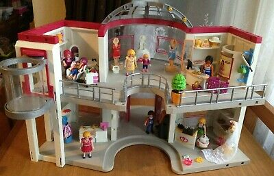 Playmobil Shopping Mall & Accessories (will Combine Postage Where I Can)  • 35£