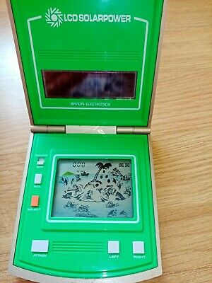 Vintage 1982 Bandai LCD Solar Power  Game  • 30£