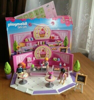 Playmobil Cupcake Cafe/shop Playset- 9080-in Original Box With Instructions  • 15£
