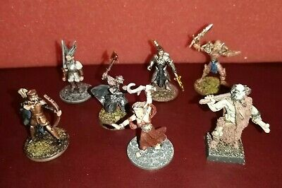7 Nicely Painted Miniatures Suitable For Dungeons And Dragons, RPGS Etc....01 • 10£