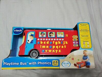 Vtech Playtime Bus With Phonics Opened – Never Used • 3.60£