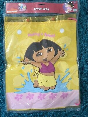 Nickelodeon Dora The Explorer Swim Bag New • 6.99£