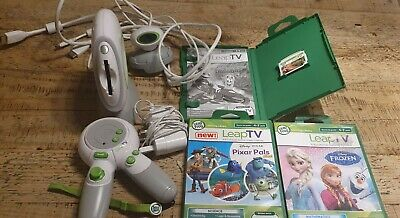 Leapfrog Leap TV Console, Controller, 3 Games Included  • 9.50£