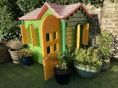 Little Tikes Playhouse (green, Red And Yellow) • 40£