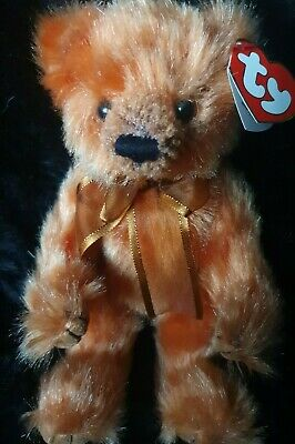 Ty Bear - Attic Treasures Clay With Tag  - Retired • 5£