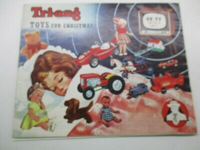 Triang Toy Catalogue Year 1962  • 15£