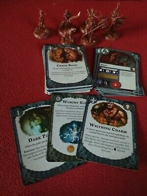 Warhammer Underworlds Godsworn Hunt Warband And Faction Cards Only • 9.99£