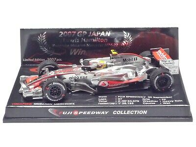 MINICHAMPS 1:43 McLAREN MP4-22 L. HAMILTON 2007 GP JAPAN WINNER FUJI SPEEDWAY • 49.99£