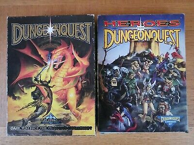 DUNGEONQUEST COMPLETE COLLECTION Inc CATACOMBS & HEROES EXPANSION GAMES WORKSHOP • 379.99£