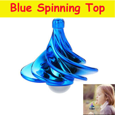 Spinning Top Decompression Toy Wind Blow Gyro Desktop Kids Gift For Christmas UK • 8.11£