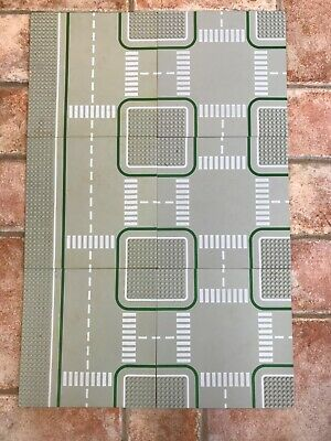 6 Lego Vintage Base Boards For Road Town Paths Etc • 29.99£