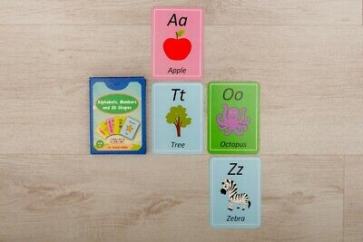 Educational Flash Cards - Alphabets, Numbers And 2D Shapes • 15£