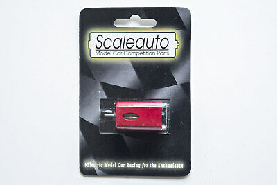 New MRRC/Scaleauto Long Can Slot Car Motor –Red • 7.99£